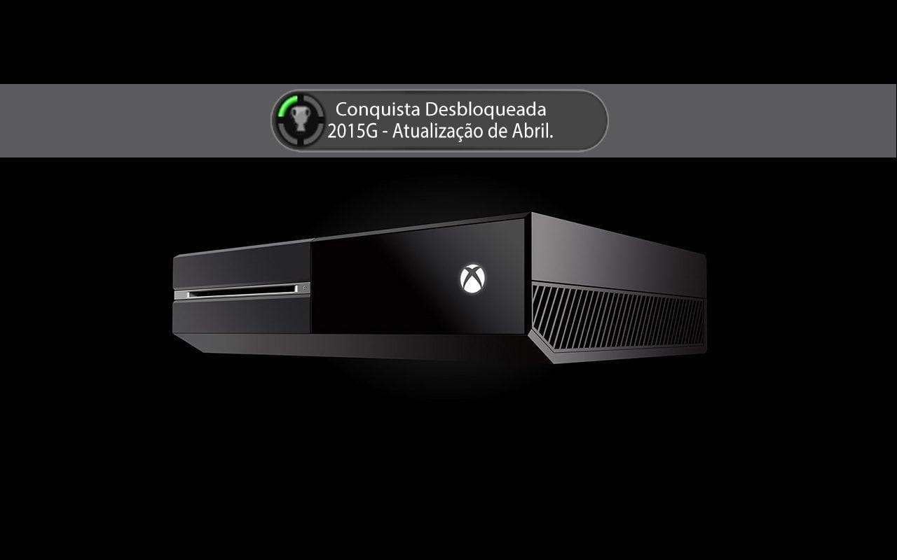 Atualização de Abril para o Xbox One