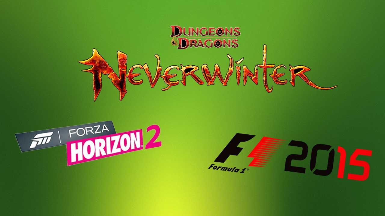 Neverwinder, Forza Horizon 2 e F1 2015
