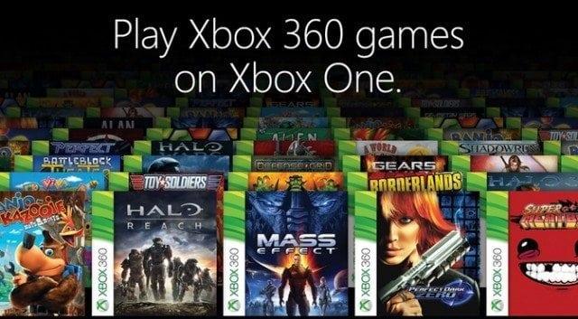Xbox One recebe compatibilidade com jogos do Xbox 360