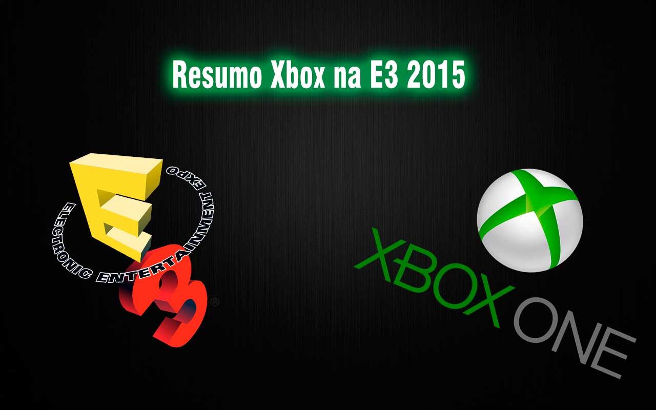 Confira as novidades da conferência do Xbox na E3