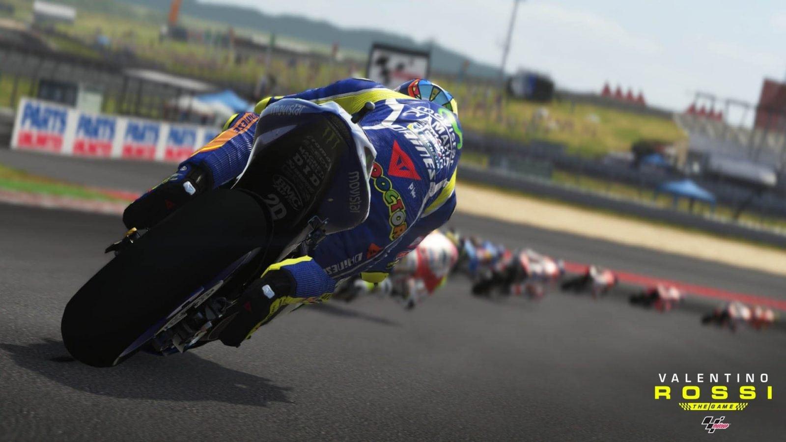 Valentino Rossi The Game Chega hoje aos Consoles e PCs