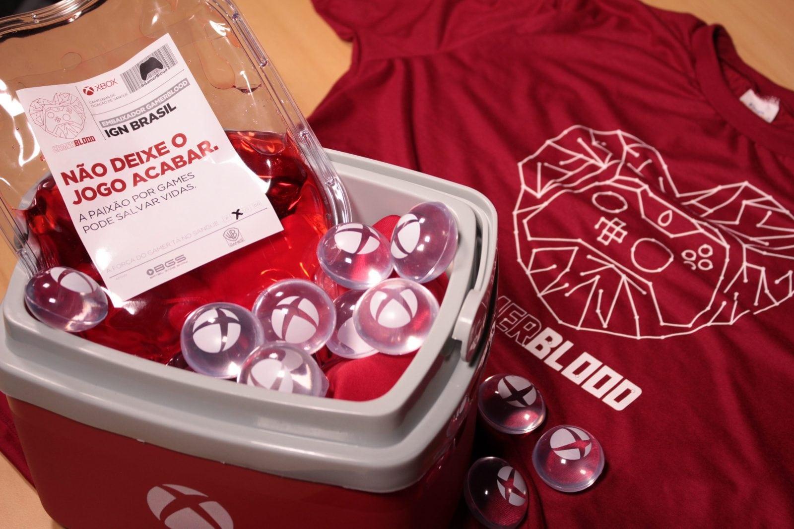 Não deixe este jogo acabar, doe sangue! Microsoft inicia campanha para incentivar a doação de sangue