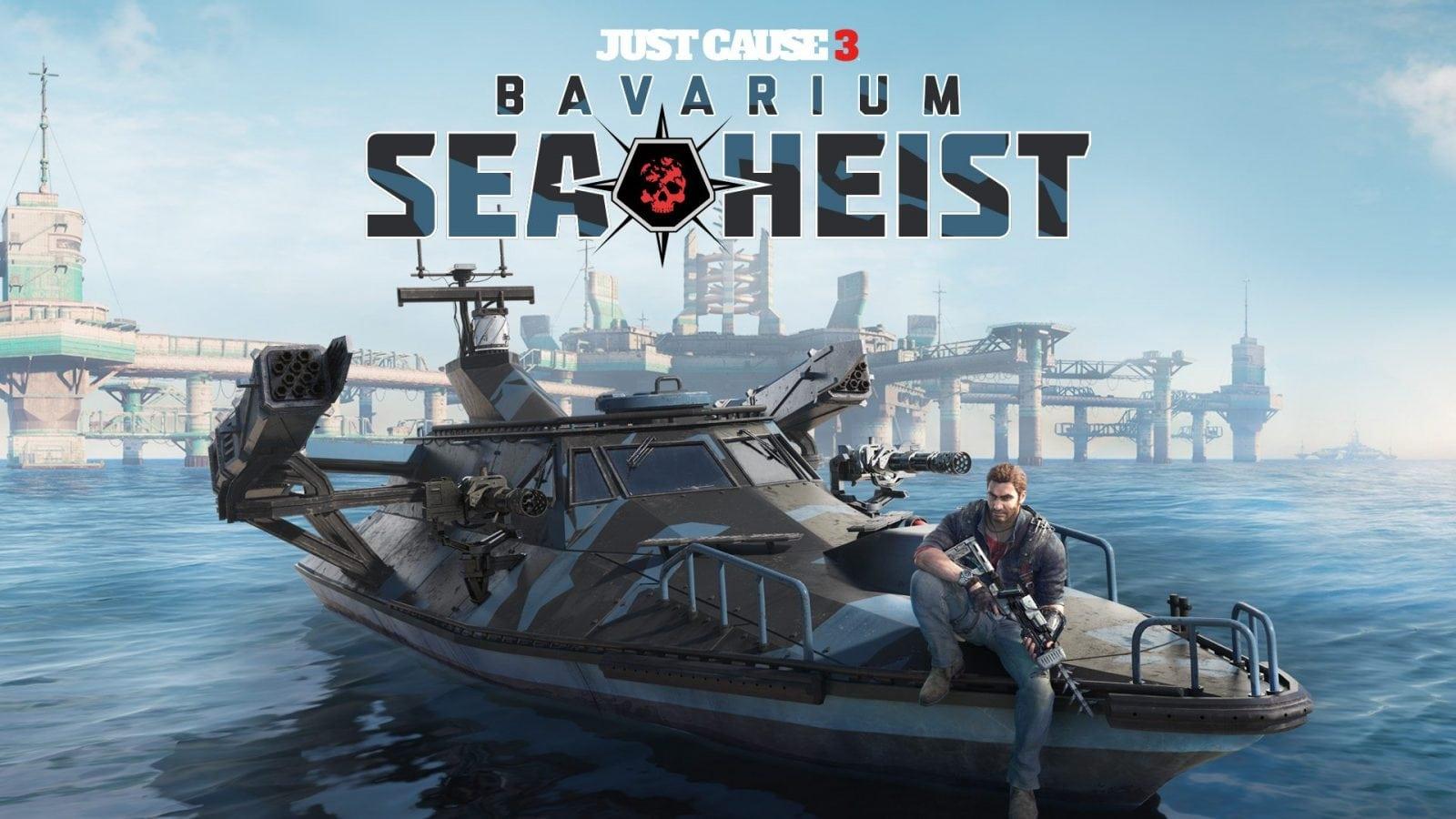 JUST CAUSE 3: BAVARIUM SEA HEIST JÁ ESTÁ DISPONÍVEL