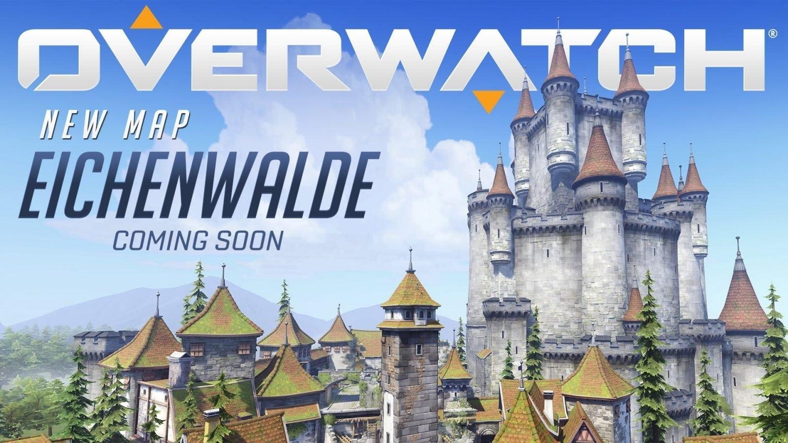 Vem aí um novo mapa em Overwatch, confira a prévia do mapa Eichenwalde