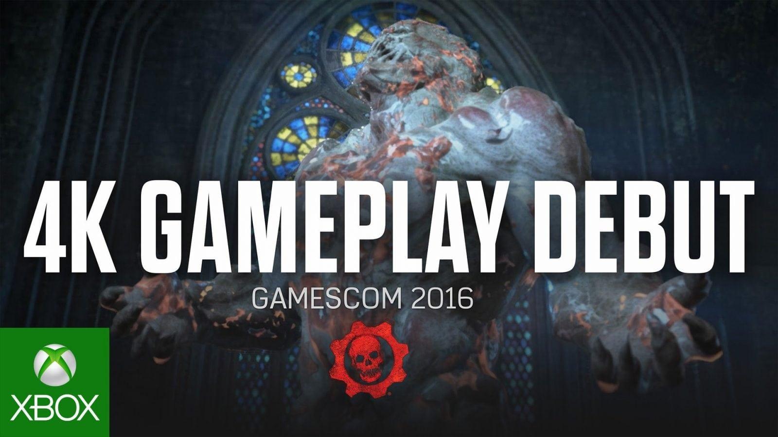 Confira mais um gameplay sensacional de Gears of War 4 direto da Gamescom 2016