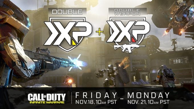 Double XP e Double Weapon XP por tempo limitado no CoD: Infinite Warfare