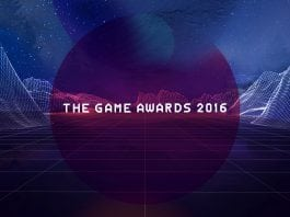 the games award 2016