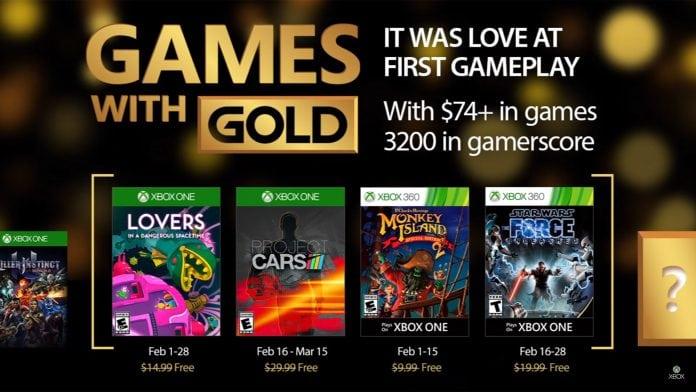 games with gold fevereiro 2017