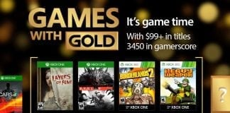 games with gold março 2017