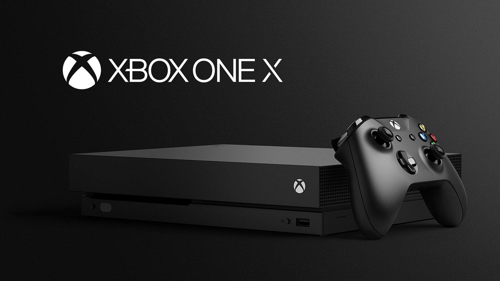 E3 2017 Xbox One X