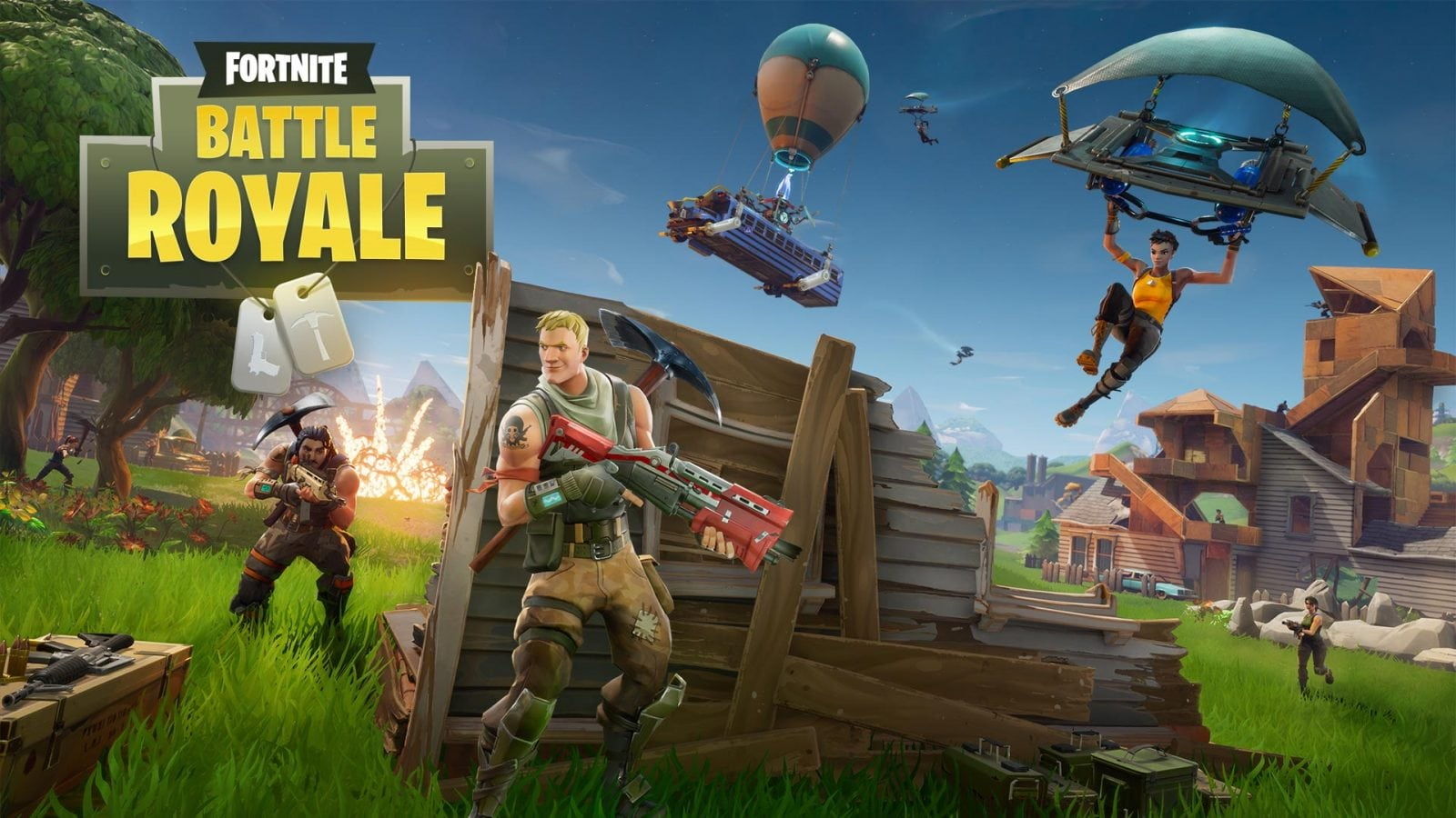 Modo Battle Royale de Fortnite gratuito