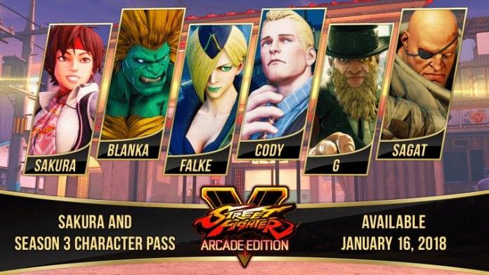 Temporada 3 de Street Fighter V