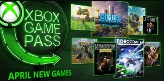 Xbox game pass abril