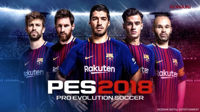 Pes 2018 Xbox Game Pass