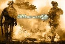 Call of Duty Modern Warfare 2 xbox retro