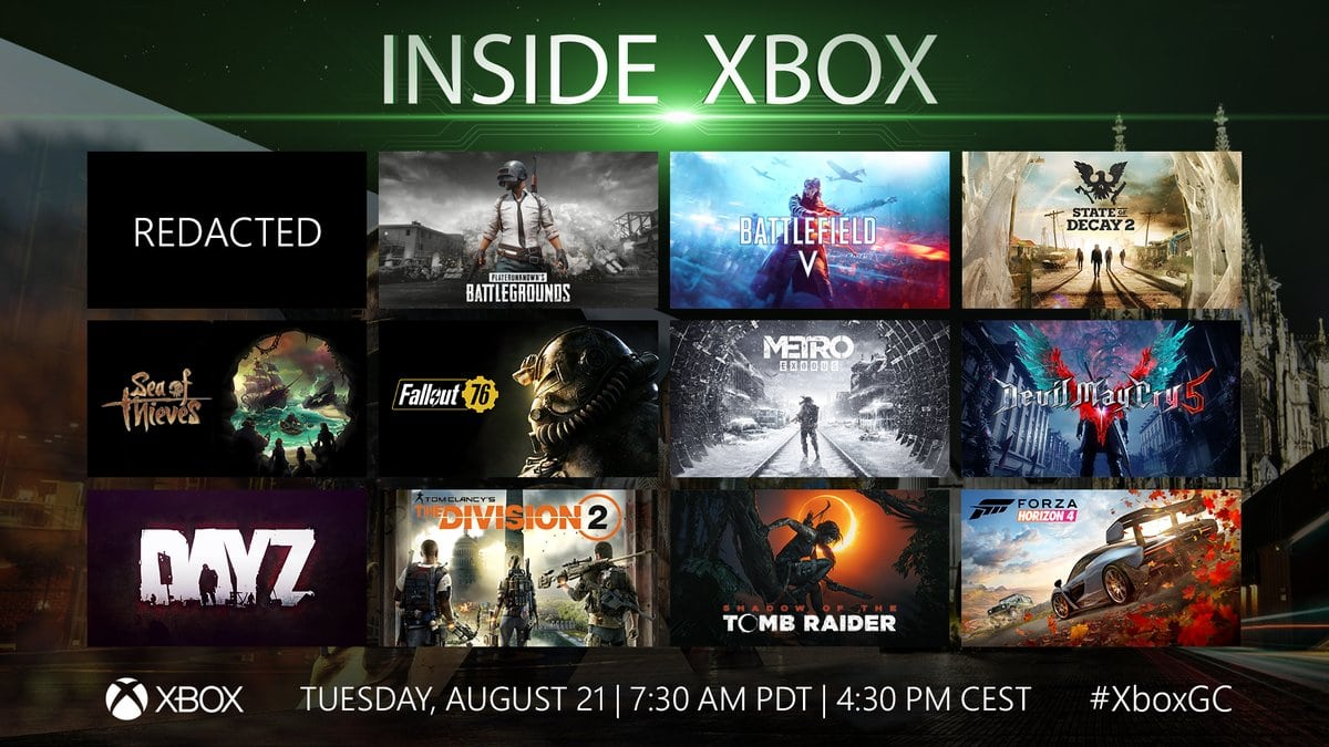 Gamescom 2018 Xbox