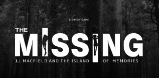 The Missing: J.J Macfield and the Island of Memories