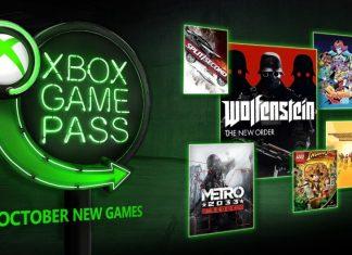 Xbox game pass outubro