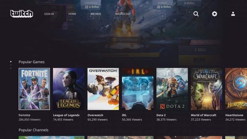 Twitch Beta Xbox