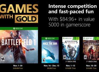 games with gold novembro 2018