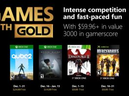 games with gold dezembro 2018
