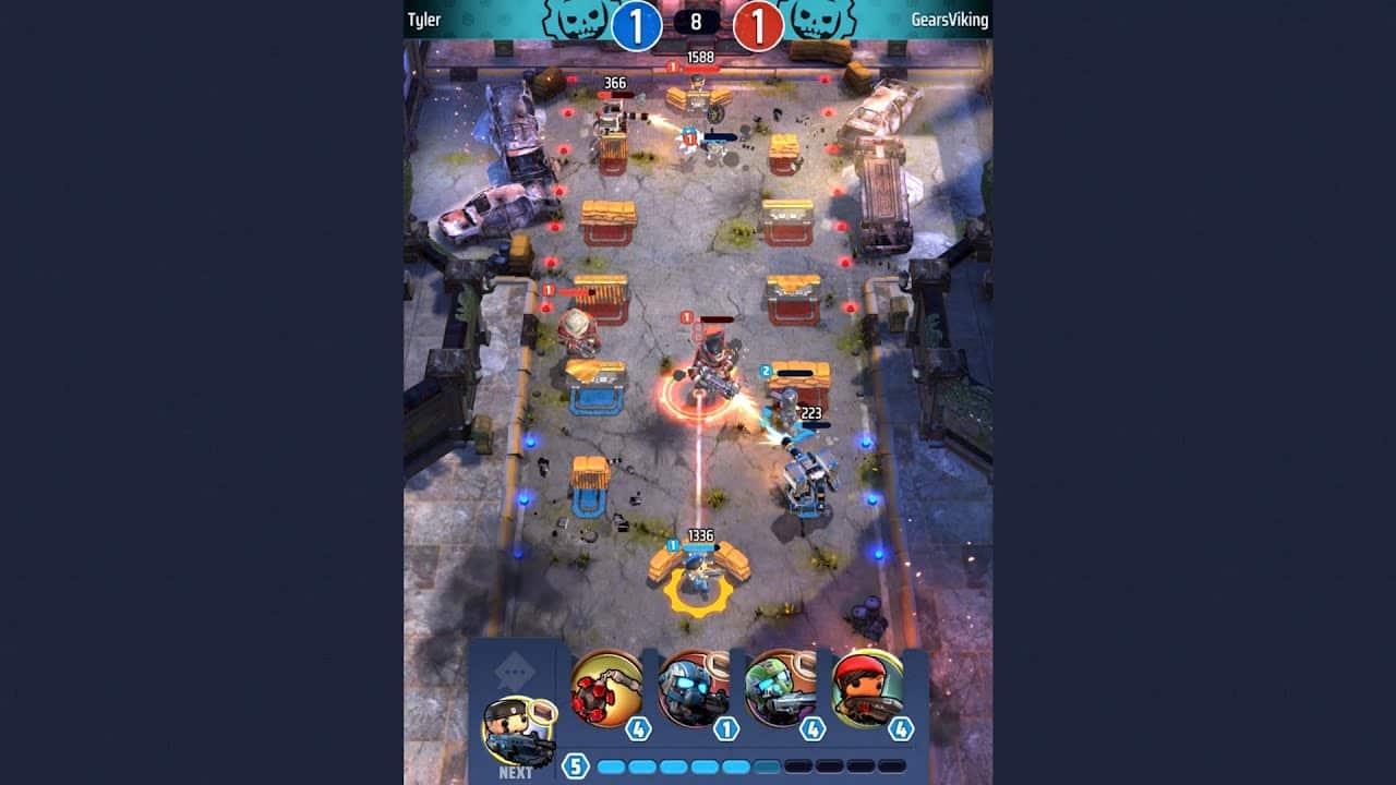 Gears Pop ganha primeiro gameplay; Confira