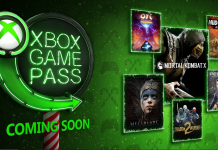 Xbox Game Pass Dezembro