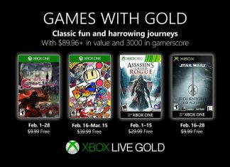 Games with gold fev 2019