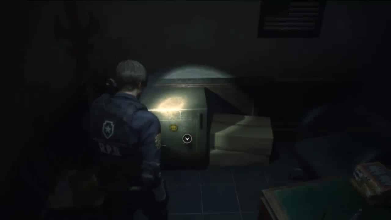 Resident Evil 2 Remake Senhas Cofres