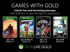 games with gold abril 2019