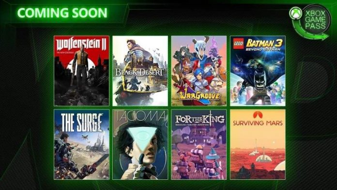 Xbox Game Pass maio 2019