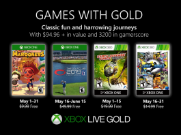 games with gold maio 2019
