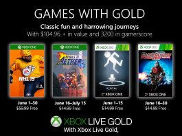 games with gold junho 2019