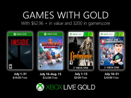 games with gold julho 2019