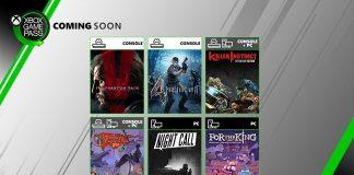Xbox Game Pass Julho