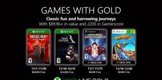 games with gold novembro