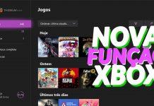 nova funcionalidade no Xbox One