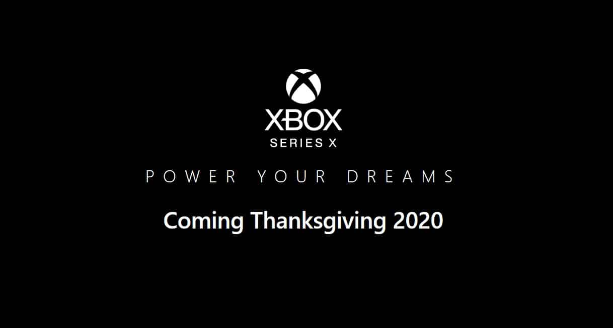 xbox series x thanksgiving