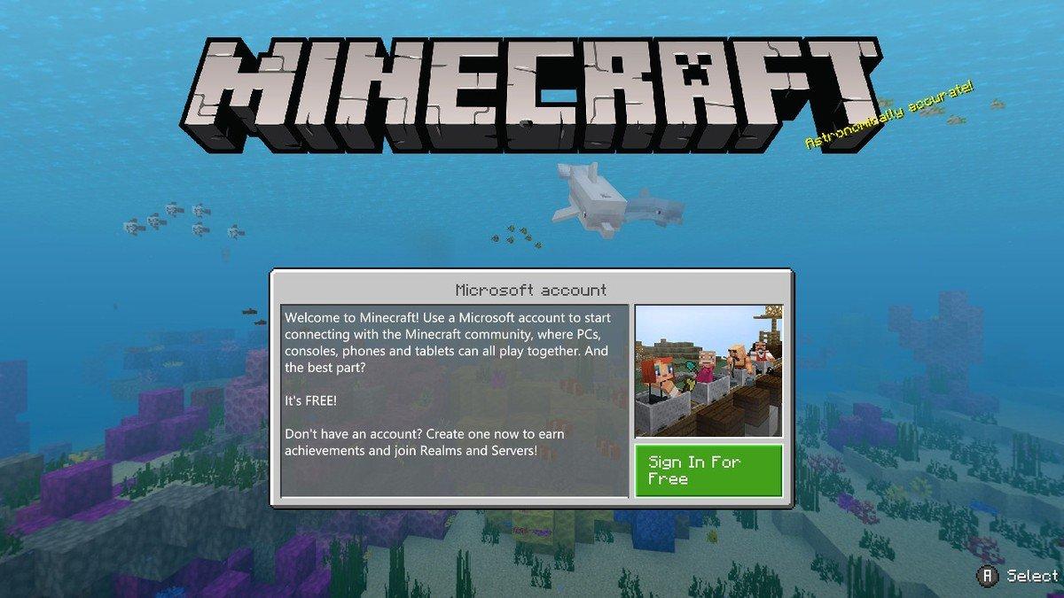 Como jogar Minecraft crossplay entre Xbox One, Nintendo Switch e PS10