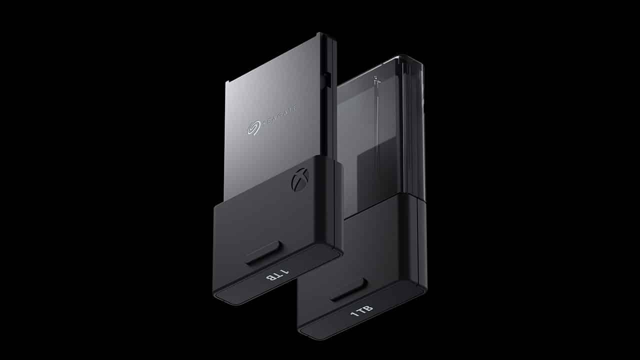 Cartão de memória Xbox Series X