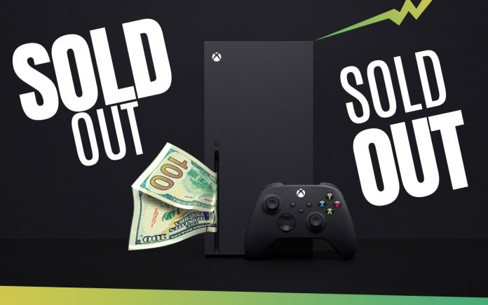 xbox series x sold out