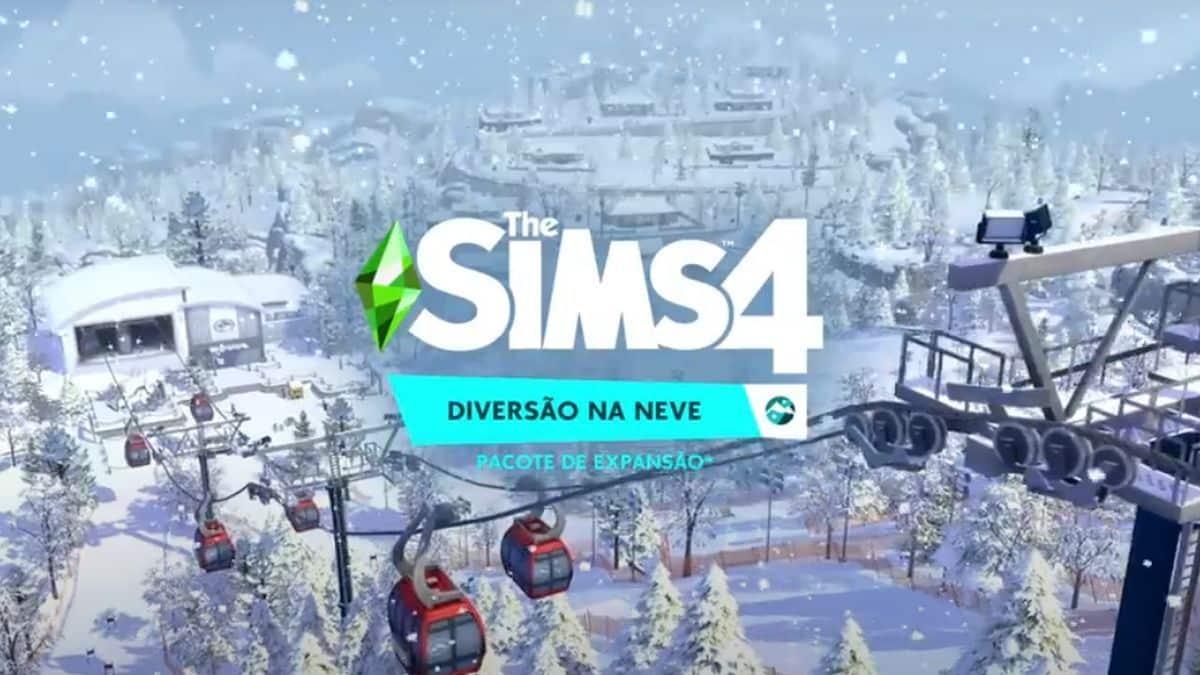 The Sim 4 - Diversão na Neve