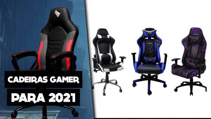 Cadeira Gamer Guia das mais vendidas e as melhores opções para 2021